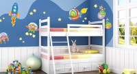 in the Space, Wall Stickers for Children