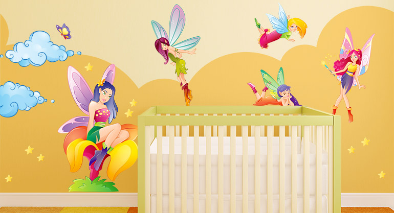 Magic Wall Stickers for Kids, the Fairies