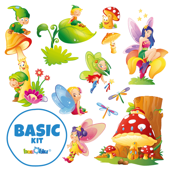 Wall Decors for Kids Basic Kit Fairies and Elves