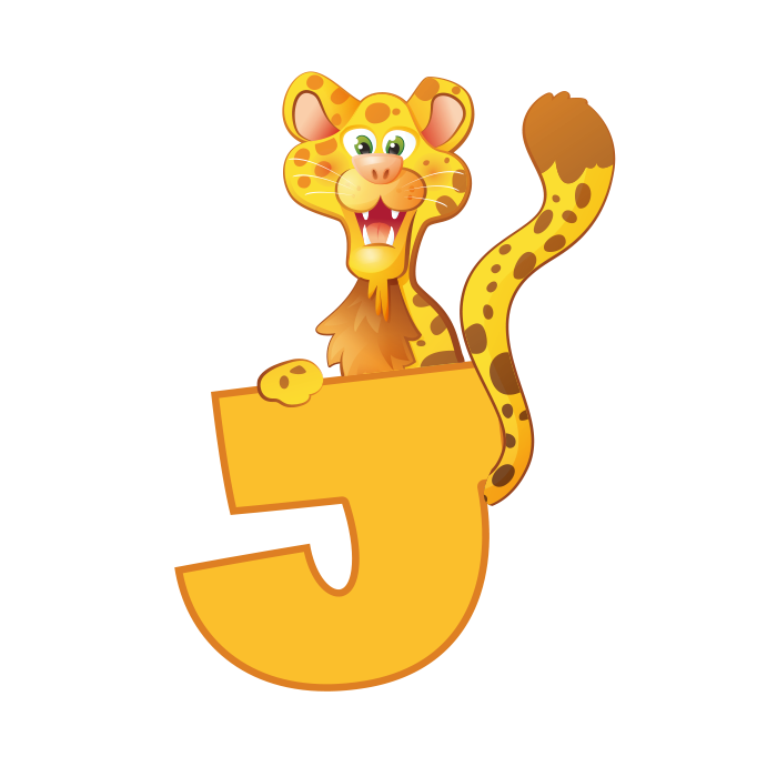 J Wall Adhesive Letters for Kids Rooms