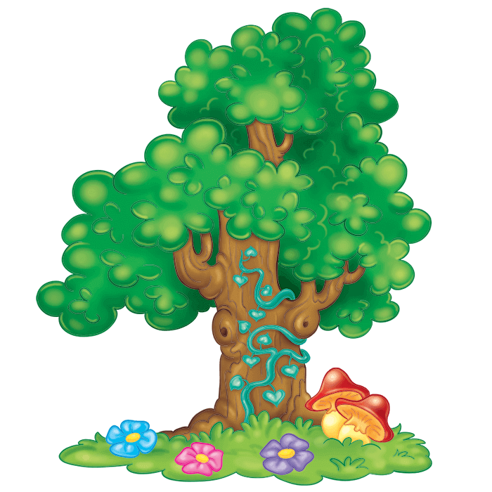 In the Meadow Wallstickers for Kids, Big Tree Sticker