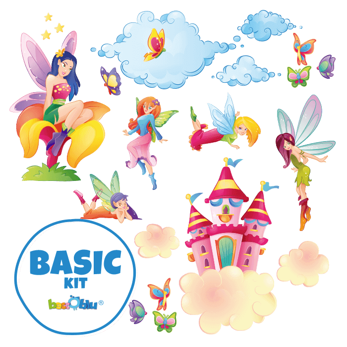 Wall Decals for Children Basic Kit the Fairies