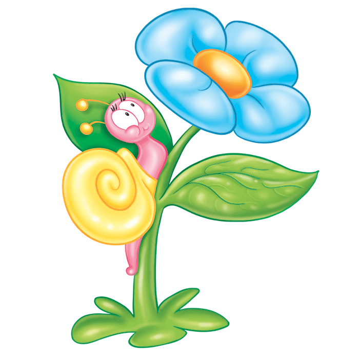 In the Meadow Wallstickers for Children, Snail Sticker