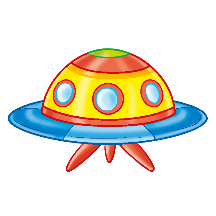 In the Space Wallstickers for Children, Ufo Sticker